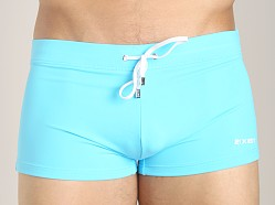 2xist Cabo Knit Swim Trunk Blue Atoll