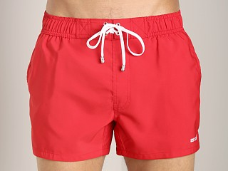 2xist Ibiza Woven Swim Shorts Salsa Red