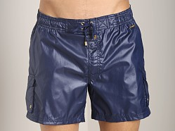 2xist Gold Camper Swim Shorts Varsity Navy