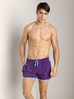 2xist Color Block Jogger Swim Shorts Acai/Azure