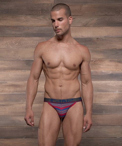 C-IN2 Pop Stripes Street Jock Extra Magenta