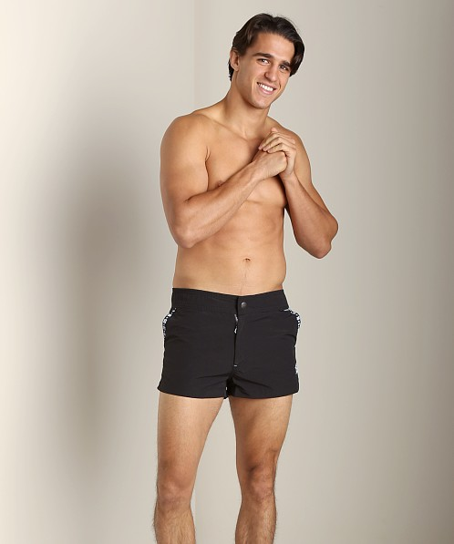 C-IN2 H+A+R+D Swim Shorts Black