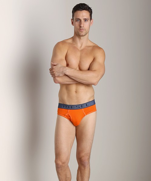 Diesel Underdenim Blade Brief Orange