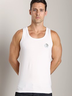 Diesel Mohawk Zac Tank Top White