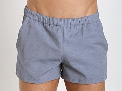 GrigioPerla Tela Tecnica Swim Shorts Blue