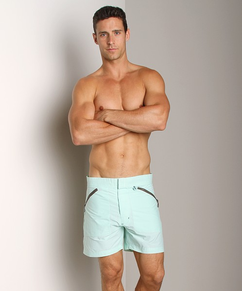 C-IN2 Solid Cargo Swim Shorts Green Swarm
