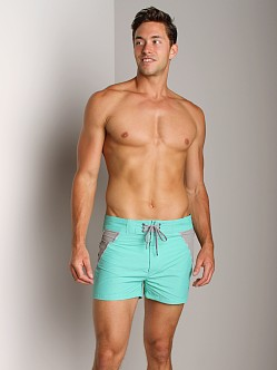 C-IN2 Block Swim Shorts Menthol