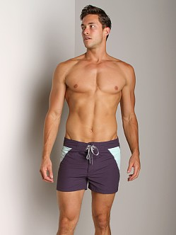 C-IN2 Block Swim Shorts Carbon Ink