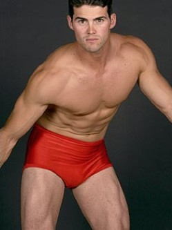 Cliff Keen Red Wrestling Briefs