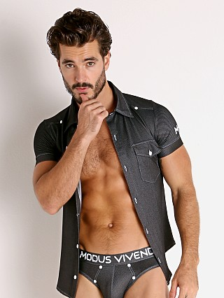 You may also like: Modus Vivendi Jeans Line Shirt Charcoal