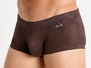 Modus Vivendi Vegan Suede Laser Cut Trunk Brown