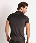 Modus Vivendi Vegan Suede Shirt Black, view 4