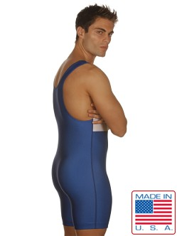Edge Royal Blue Lycra Speedsuit