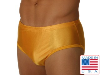 Edge Gold Lycra Briefs