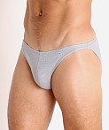 Modus Vivendi Smooth Hemp Super Low Rise Brief Smoke Grey, view 3