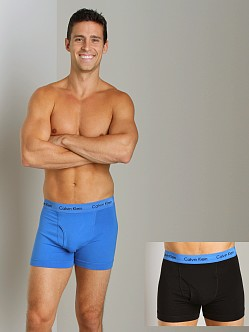 Calvin Klein Cotton Stretch 2 Pack Trunk Dream & Black
