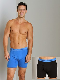 Calvin Klein Cotton Stretch 2 Pack Boxer Brief Dream & Black