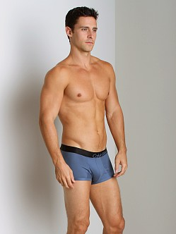 Calvin Klein Bold Micro Low Rise Trunk Deco Blue