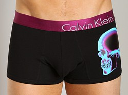 Calvin Klein Bold X-Ray Cotton Trunk Profile Skull