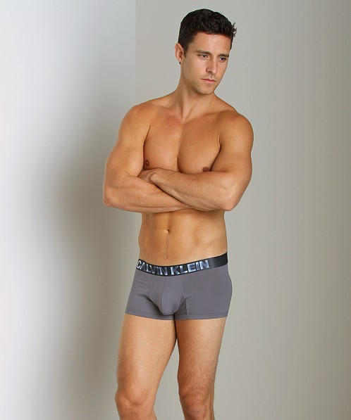 Calvin Klein Bold X-Ray Micro Solid Low Rise Trunk Licorice