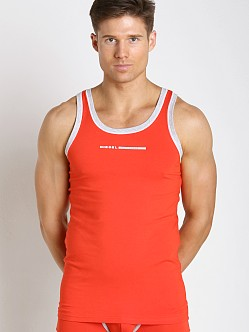 Diesel Fresh & Bright Simon Tank Top Red