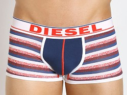 Diesel Hero Fit Striped Hero Boxer Blue & White