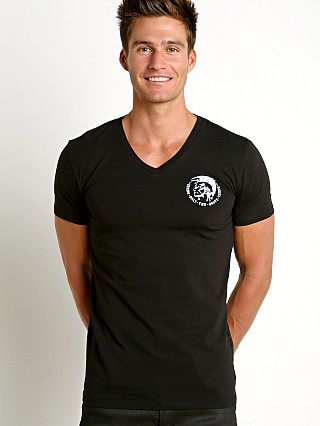 Diesel Mohican Michael V-Neck Shirt Black