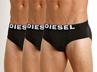 Complete the look: Diesel Essential Blade Briefs 3-Pack Black