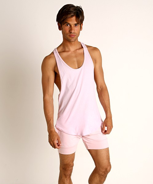 Go Softwear Moderne Classic Muscle Tank Top Light Pink