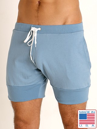 Model in slate blue Go Softwear Moderne Harbor Short