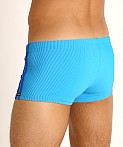 Sauvage Football Lace-up Swim Trunk Royal/Cobalt, view 4