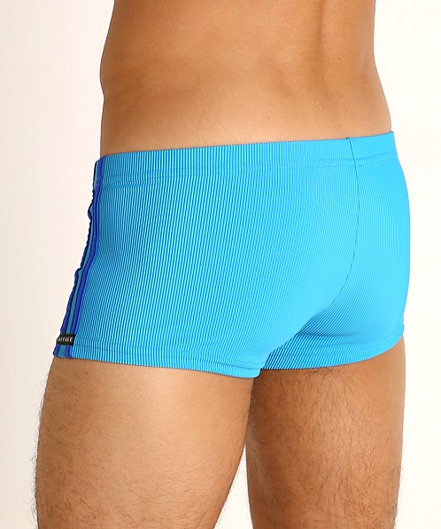 Sauvage Football Lace-up Swim Trunk Royal/Cobalt