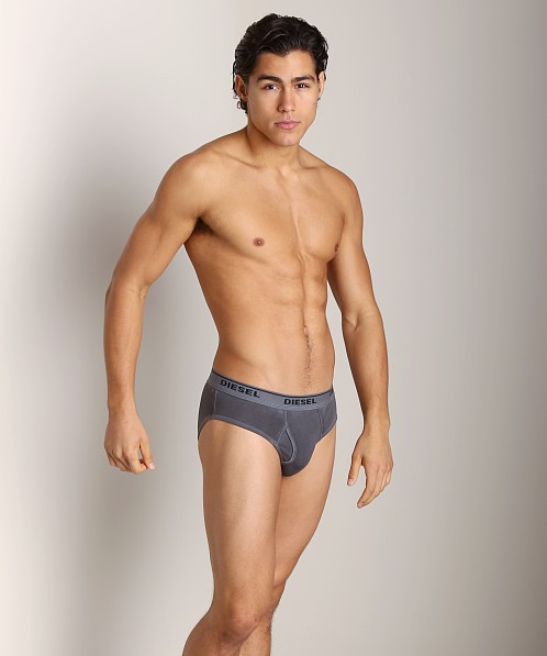 Diesel Spray Dyed Blade Briefs Grey