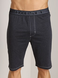 Diesel Underdenim Martiny Lounge Shorts Black
