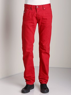 Diesel Darron Tapered Jeans Red