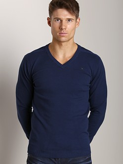 Diesel K-Ben V-Neck Sweater Midnight