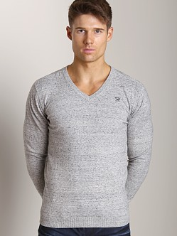 Diesel K-Ben V-Neck Sweater Grey