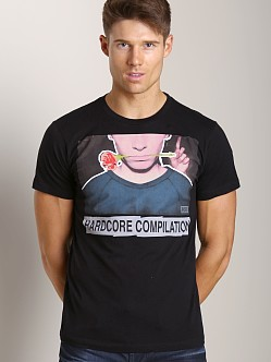 Diesel T-Lavr Digital Print T-Shirt Black