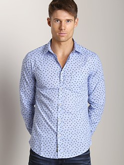 Diesel Smansi Long Sleeve Shirt Blue