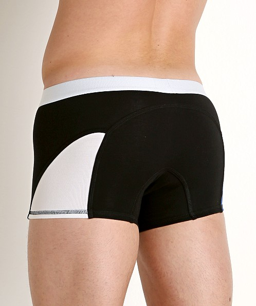 American Jock Sports Trunk Black Combo
