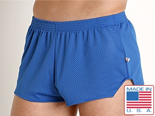 American Jock Team Mesh Short Royal