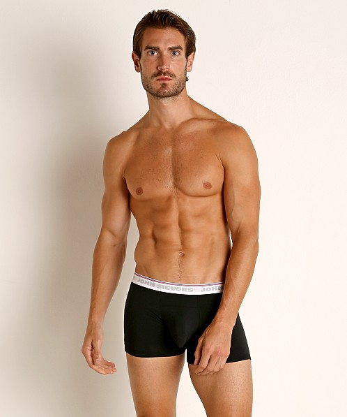 John Sievers RETRO Natural Pouch Boxer Briefs Black