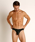 John Sievers LUX Natural Pouch Low Rise Brief Black, view 2