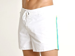 "Sundek 14"" Classic Low-Rise Boardshort White 30"
