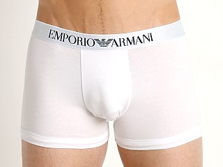 Complete the look: Emporio Armani Stretch Cotton Boxer Brief White