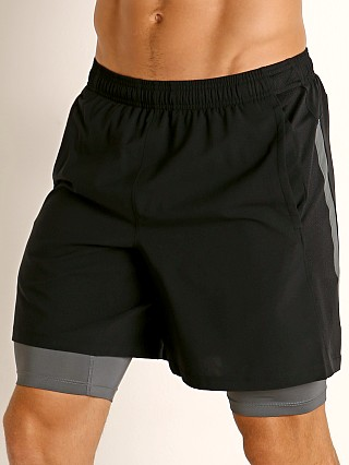 Under Armour Launch SW 2-in-1 Men's Running Shorts Black/Grey