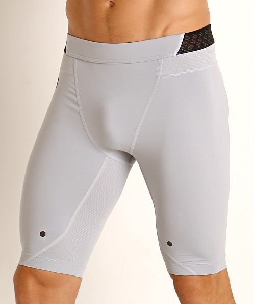 Under Armour HeatGear Rush Compression Short Mod Gray