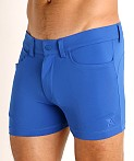 LASC Retroactive Scouting Shorts Royal, view 3