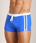 Sauvage Riviera Swim Short Royal, view 3