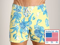 Sauvage Laguna Surf Short Yellow Flower